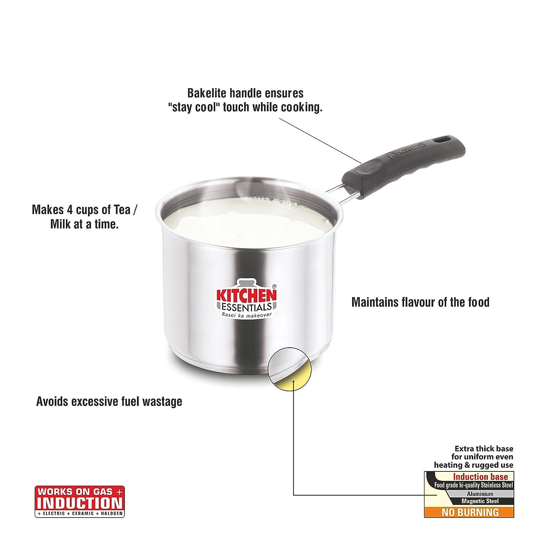 Kitchen Essentials (Home Zone) Milk Pan - Induction Friendly