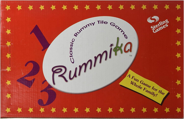 Sunnywood 3508 Rummika jeu classique Tile Rummy