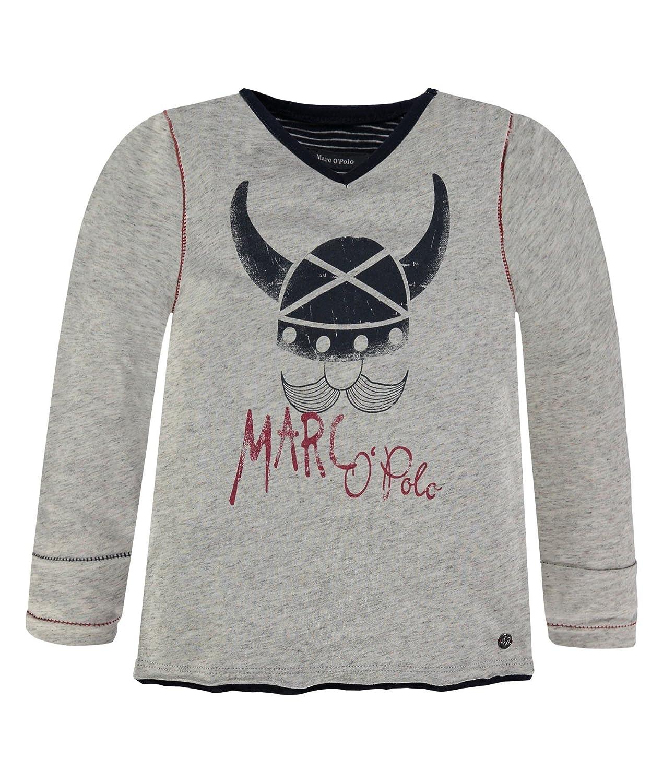 Marc O Polo Kids T-Shirt 1/1 Arm, Camiseta de Manga Larga para ...
