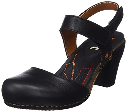 ART Donna 0313 Memphis Amsterdam Sandali Con Cinturino alla Caviglia Nero 8 UK