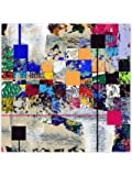 999Store Wooden Framed Printed Colourful Abstract Beautiful Collage Canvas Painting (24X24 Inches)