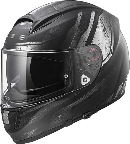 Amazon.es: LS2 Casco Moto, Negro, S