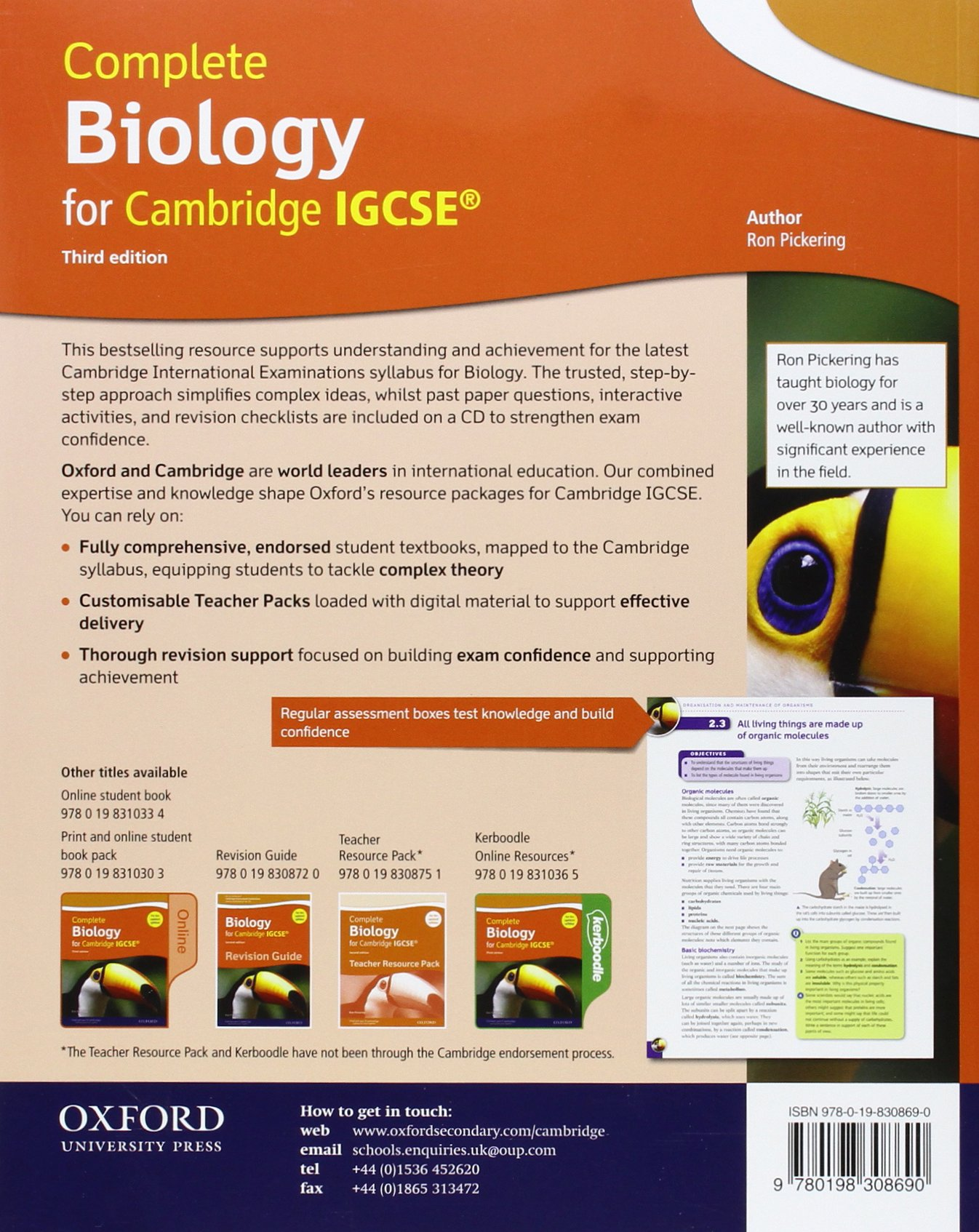 Complete science for Cambridge IGCSE®: complete biology for ...