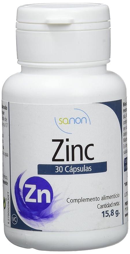 Sanon Zinc, 30 Cápsulas, 525 mg