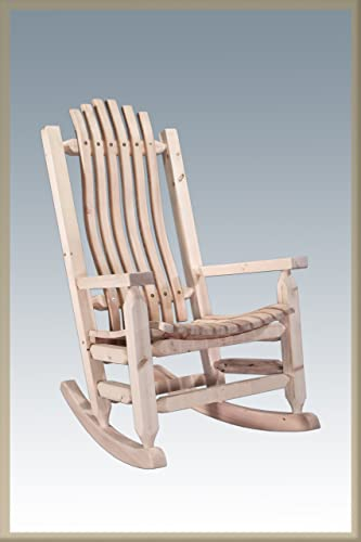 Montana Woodworks Homestead Collection Rustic Adult Rocker