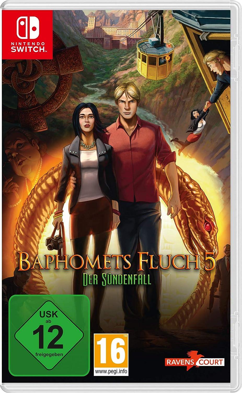 Baphomets Fluch 5: Der Sündenfall (Nintendo Switch): Amazon.es: Videojuegos