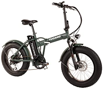 "Tucano Bikes Monster 20 - Bicicleta Eléctrica Plegable Fat Bike 20"" - Motor: 500W"