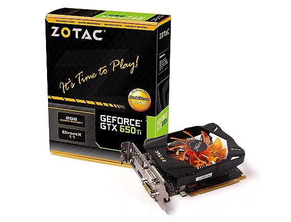 Amazon.com: Zotac NVIDIA GeForce GTX 650 Ti 2 GB GDDR5 2DVI ...