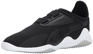 PUMA Men's Mostro Mesh Sneaker, Puma Black-Puma White, ...