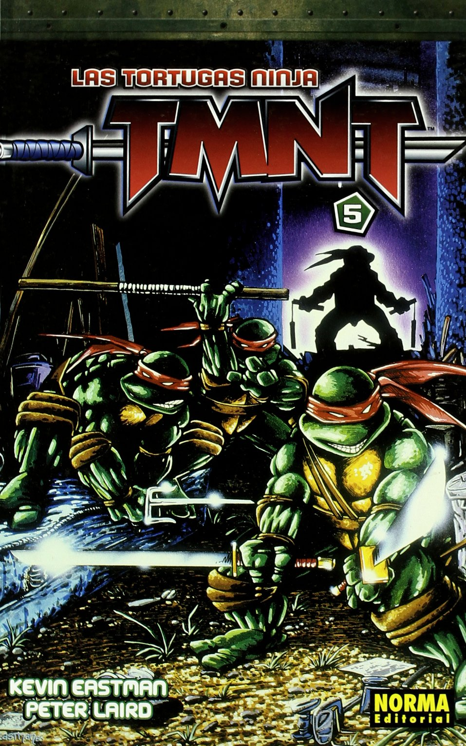 Las tortugas ninja TMNT 5/ Teenage Mutant Ninja Turtles 5 ...
