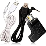 USB adapter cable set - with AC/DC plug - for Rechargeable Wand massagers