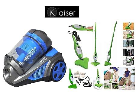Klaiser-Aspirador sin bolsa de Cyclone Alligator Xtreme fuerza ...