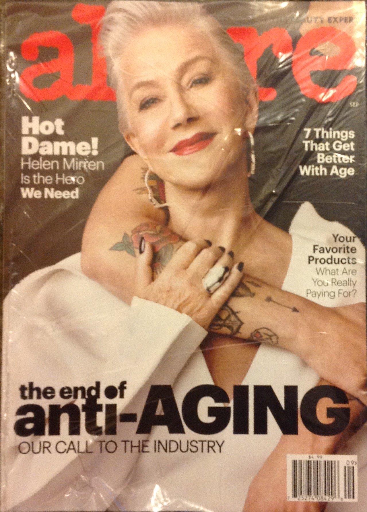 Read Online Allure Magazine (September, 2017) Helen Mirren Cover PDF