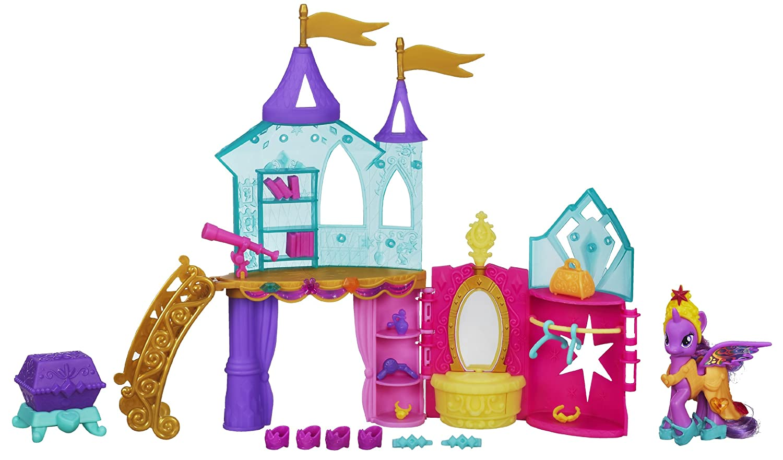 Hasbro My Little Pony Crystal Playset Amazoncouk Toys Games