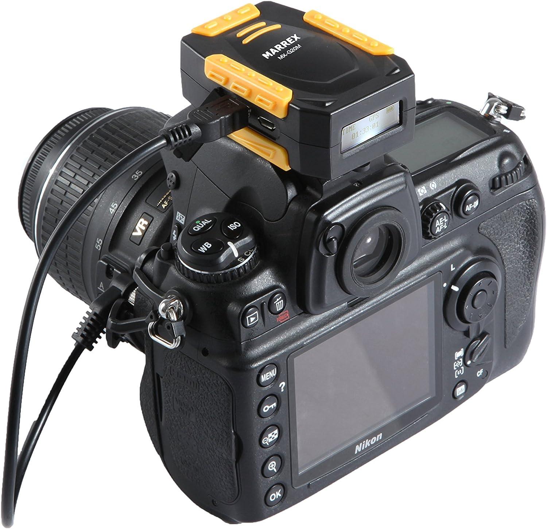 Receptor GPS Marrex MX-G20M para Nikon (LCD): Amazon.es: Electrónica