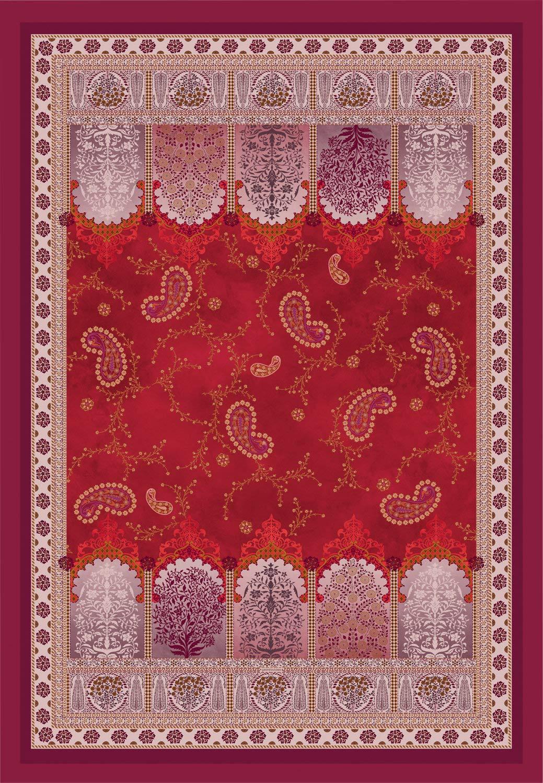 Bassetti Plaid Jaipur   V1-135 x 190