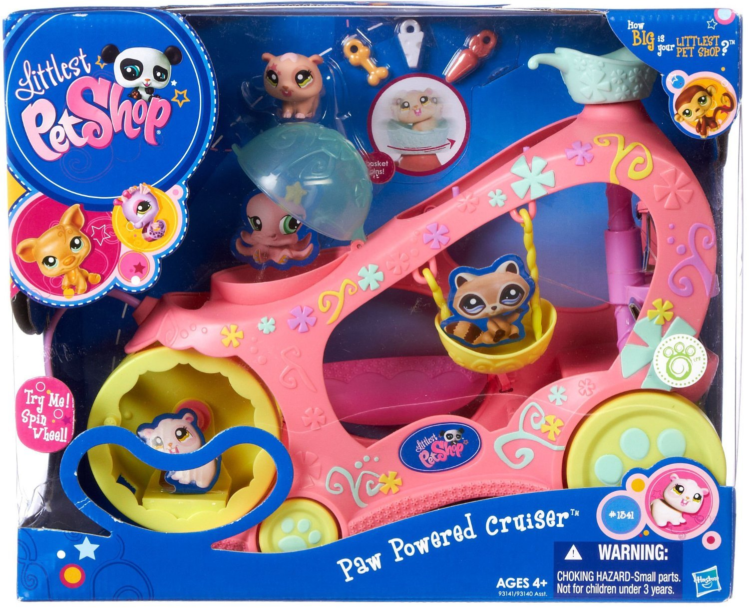Uncategorized Littlest Pet Shop Pictures amazon com littlest pet shop vehicle paw powered cruiser toys games