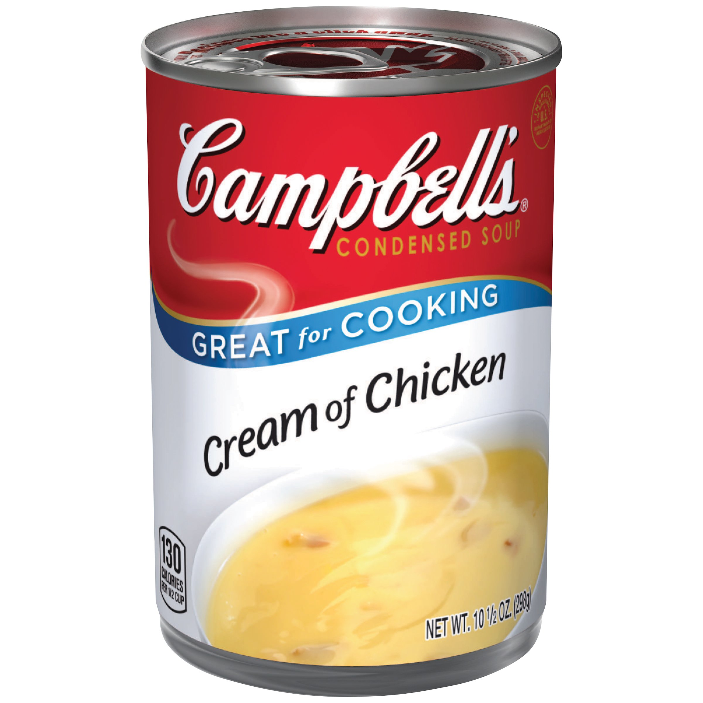 Campbell's Condensed Soup, Cream of Chicken, 10.5 Ounce (Packaging May Vary)