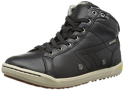 Hi Tec Sierra Mid HTO001601, Herren Fashion Sneakers, Schwarz (Black/Grey 021), EU 46 (UK 12) (US 13)