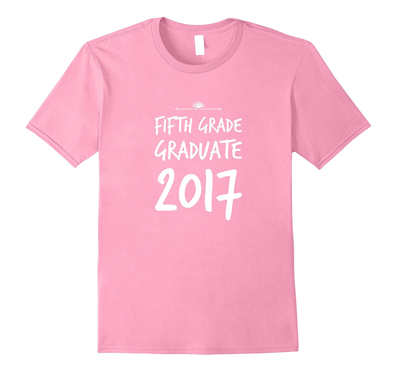 Fifth Grade Graduate Gift T Shirt Girl Boy-Vaci