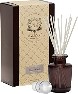 product image for BOARDWALK AQUIESSE Reed Diffuser Portfolio Collection Gift Boxed, Brown, White