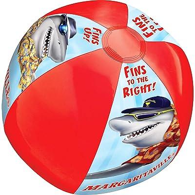 amscan Margaritaville Inflatable Beach Ball: Toys & Games