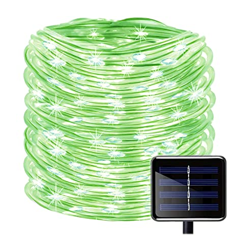 the best attitude 3cd78 1be09 SUNSEATON Solar Rope Lights,100 LEDs 39ft/12M Waterproof Solar String  Copper Wire Light,Outdoor Rope Lights for Garden Yard Path Fence Tree  Wedding ...