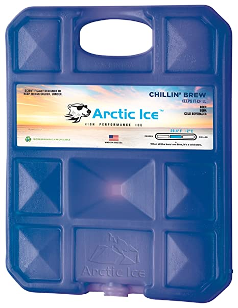 b8592b50f4f3 Arctic Ice Chillin Brew Series Reusable Cooler Pack