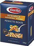 Barilla Pâtes Pennette Rigate Integrale Blé Complet 500 g - Lot de 6