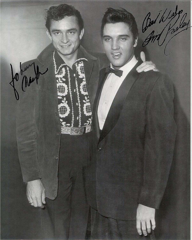 Johnny Cash 8x10 Color Photo