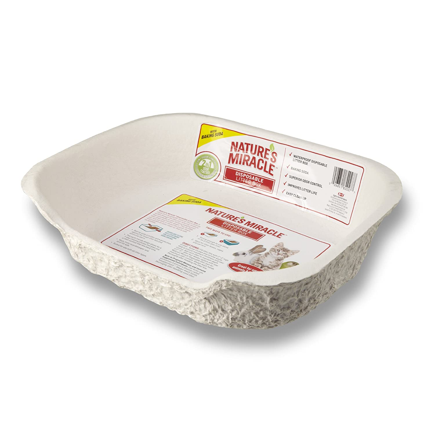 Amazon Nature s Miracle Disposable Litter Box Small Animal 1