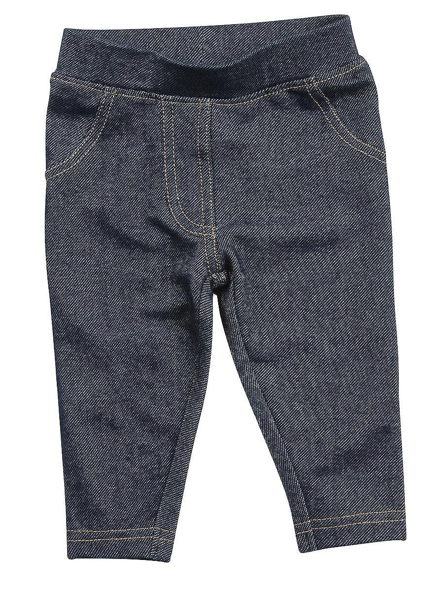 BABY TOWN Babytown Unisex Denim Style Leggings Pants (Sizes 0-24 mths)