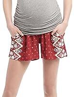 Motherhood Secret Fit Belly A-line Maternity Shorts