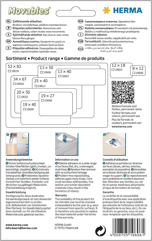 Herma 10606 etichetta per stampante