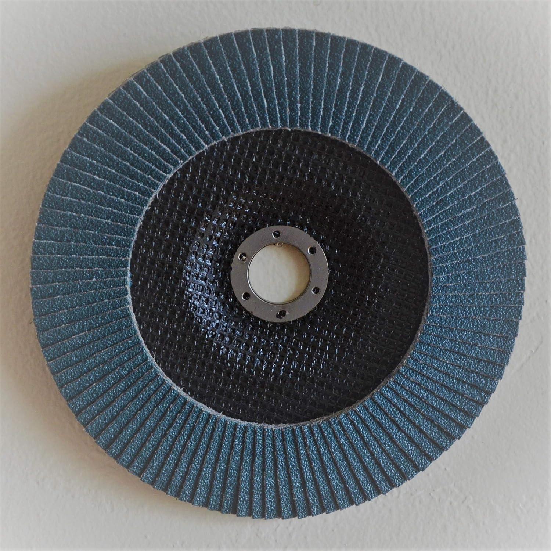 5pcs Pack Premium FLAP DISCS 7 x 7//8 Zirconia 60 grit Grinding Wheel grinder tool