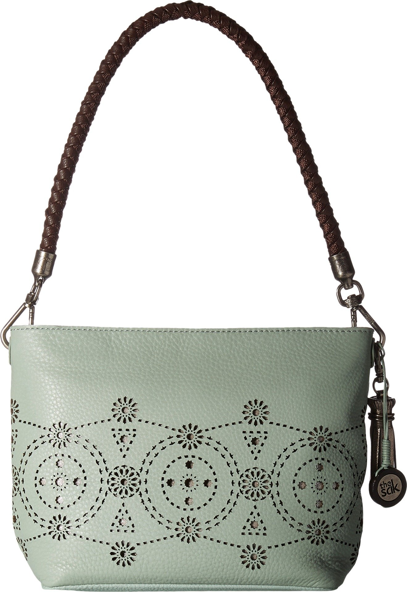 The Sak Women's Indio Leather Demi Mint Morrocan Perf Handbag