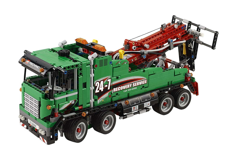 amazon com lego technic 42008 service truck toys u0026 games