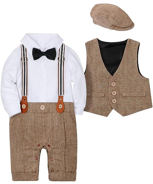 Amazon.com: WESIDOM - Conjunto de 3 trajes para bebé, de ...