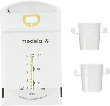 Medela Pump and Save Breastmilk Bags, 100 Count