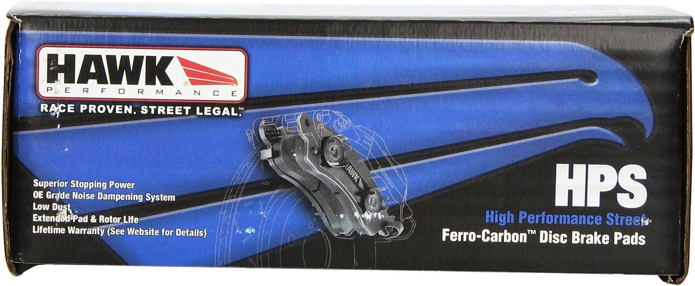 Disc Brake Pad Set-HPS Disc Brake Pad Front Hawk Perf HB471F.510