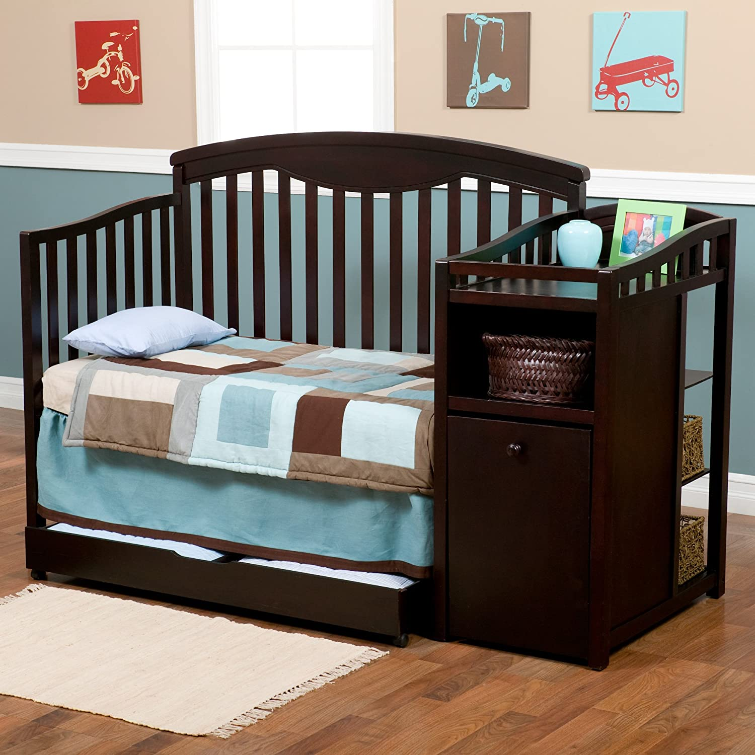 Amazoncom Delta Childrens Products Cambridge Crib N Changer