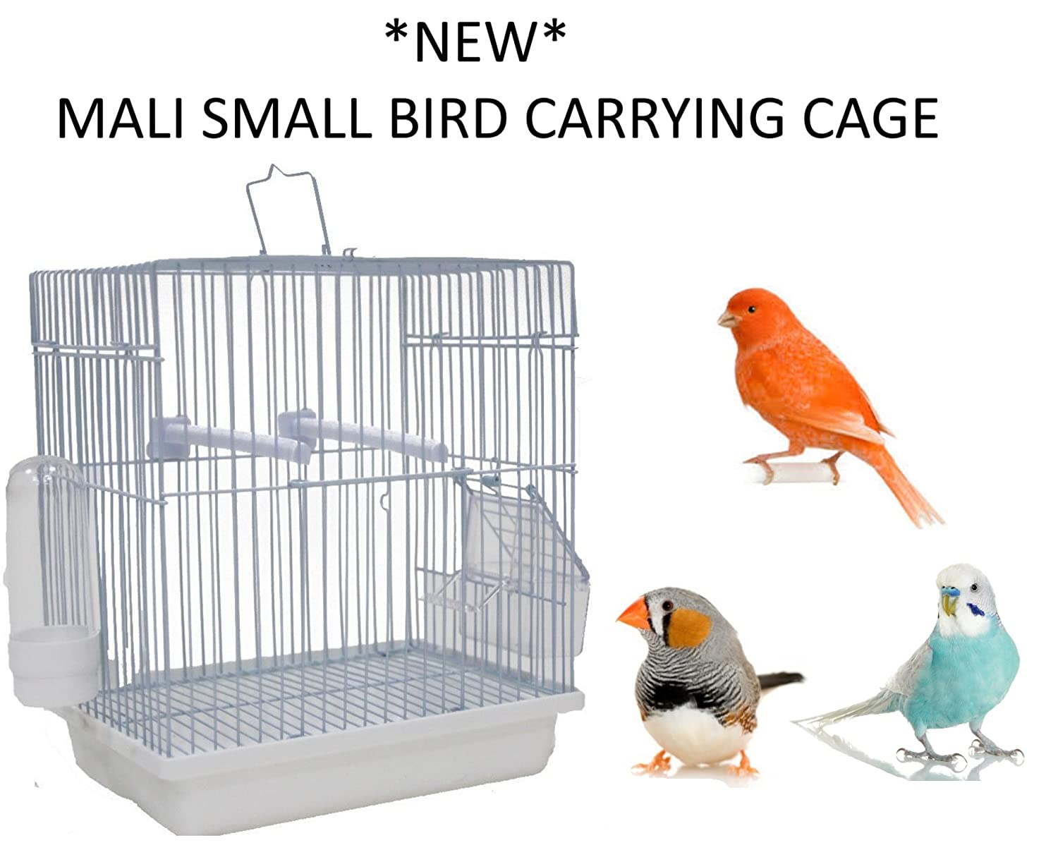 *NEW* SKY PETS MALI SMALL BIRD CARRYING TRANSPORT CAGE BUDGIE CANARY FINCH 1899