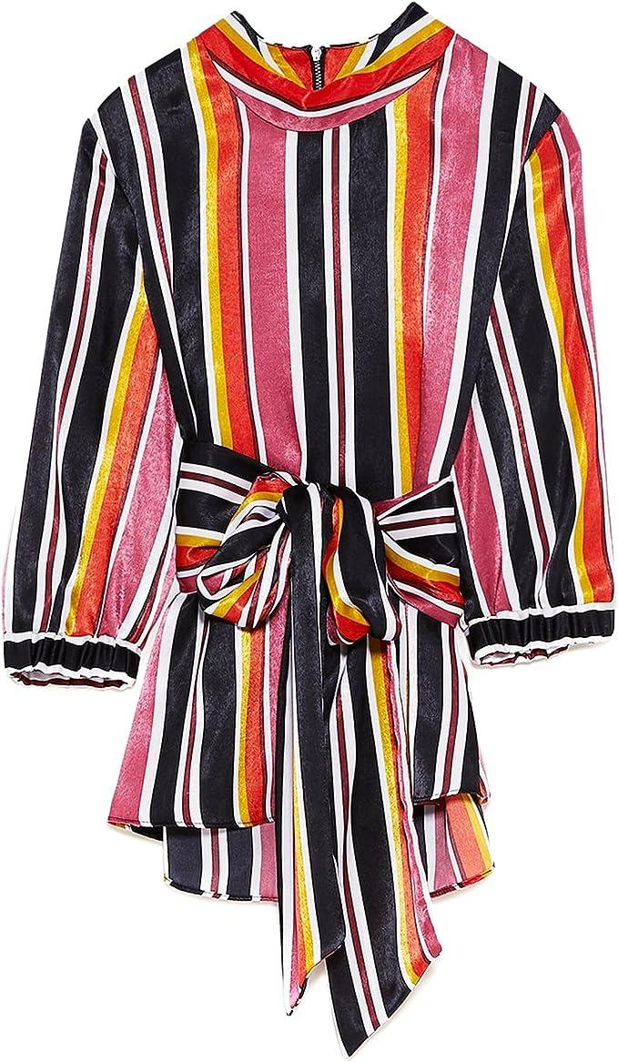 Zara Camisas - Para Mujer Multicolor M: Amazon.es: Ropa y accesorios
