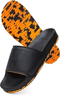 ELEWERT® - Tigerk - Sandalias de Piel Napa Acolchadas - Tipo Chancla Hombre/ Mujer - Hechas en España - Verano/Invierno - Suela de Goma Eva Reciclada Antideslizante. EU 37-46: Amazon.es: Zapatos y complementos