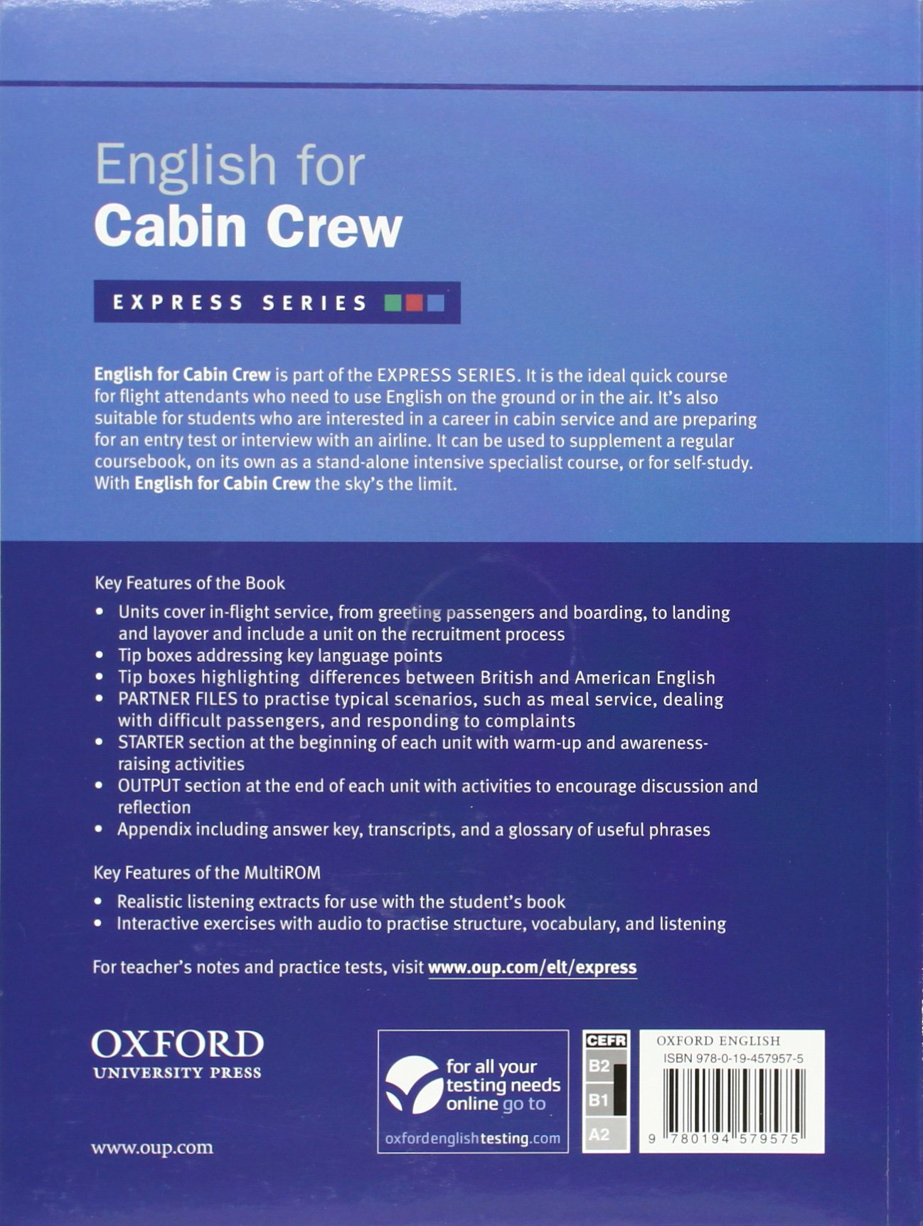 English For Cabin Crew Book