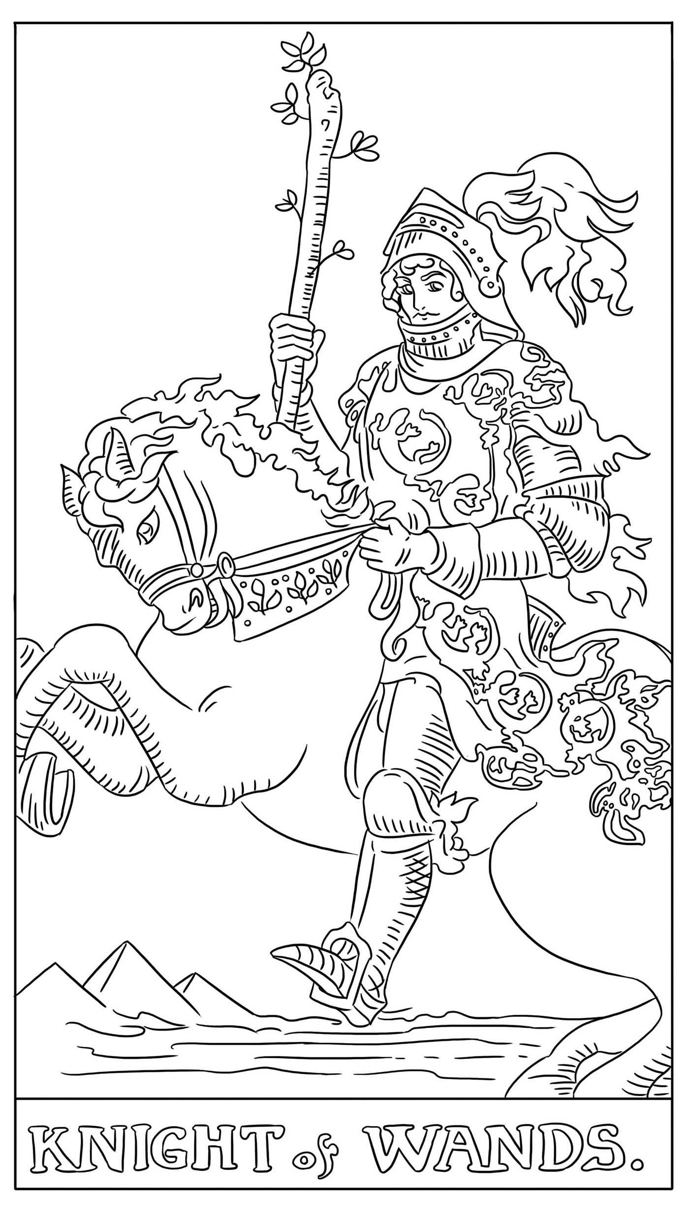 the tarot card coloring book featuring all 78 cards g c