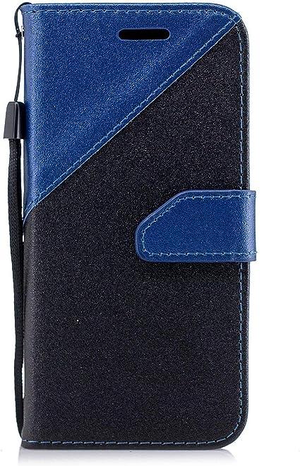 Coque Galaxy J1 Mini Prime,Etui Galaxy J1 Mini Prime,Surakey Samsung Galaxy J1 Mini Prime Cuir PU Housse à Rabat Portefeuille Étui Flip Case Folio à ...