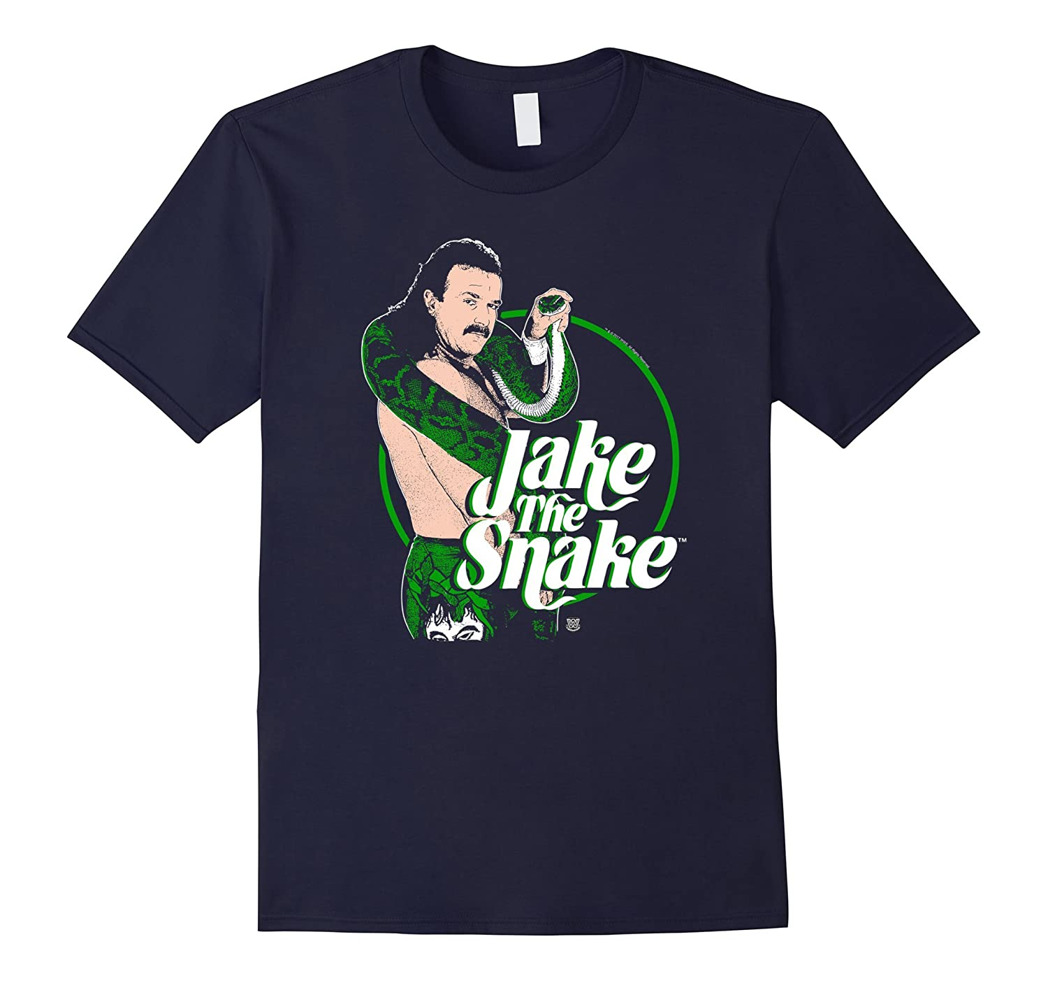 WWE Jake The Snake Roberts with Logo-TH