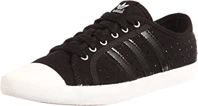adidas Originals ADRIA LOW SLEEK noir blanc V24146: Amazon