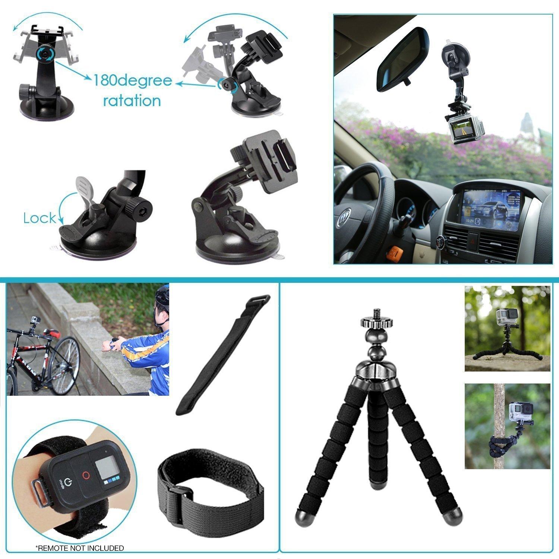 GoPro HERO8 Black Action Camera All You Need Bundle 5